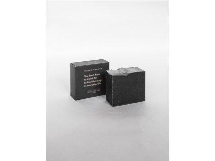 Přírodní tuhé mýdlo Black Clay