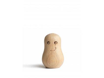 Dřevěný stojánek Small Ghost - Happy