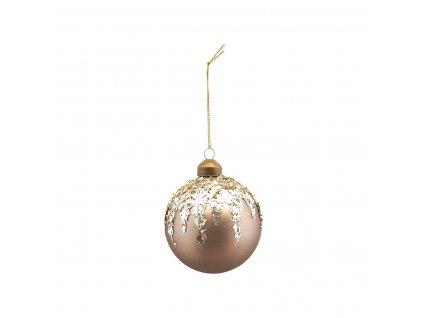 Skleněná baňka Ornament Flake - 10 cm