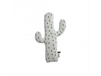 Bavlněný polštářek Kaktus - Grey