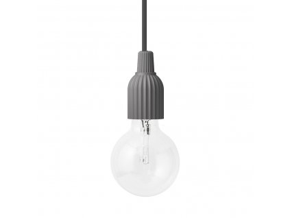 Závěsná lampa Lyngby Dark Grey