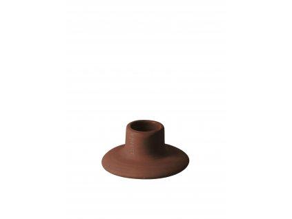 Kameninový svícen Fred Rust - 3 cm