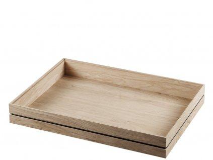 Dřevěný organizér Oak - Large