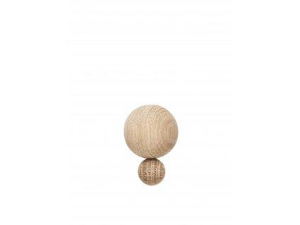 Dřevěný háček Planet - Small