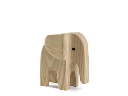 Dřevěný slon Baby Elephant  - Natural Ash