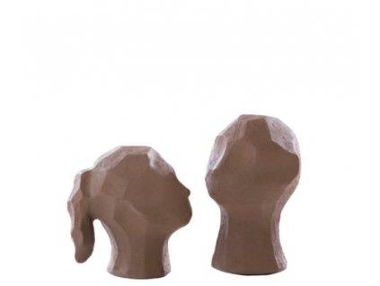 Betonové sošky Benedict & Amal - Earth