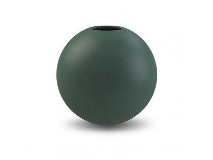 Váza Ball Dark Green  - 20 cm