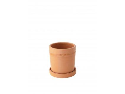 Terakotový květináč ERNST - 11 cm
