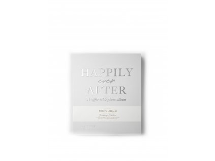 Fotoalbum Happily Ever After - Light Grey