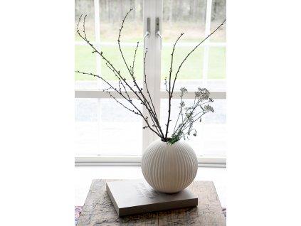 Keramická váza Vena Beige - Large
