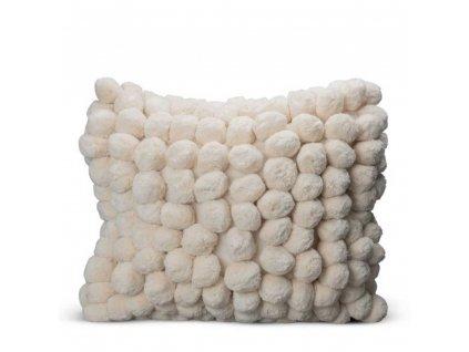 Polštář Pom Pom - Off White