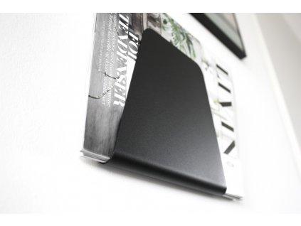 Stojan na časopisy Black - 2. jakost