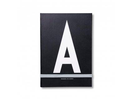 Zápisník Design Letters - A