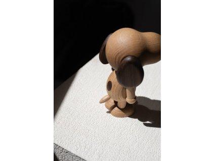 Dřevěný pejsek Mr. B'eagle Oak/Smoke - Small