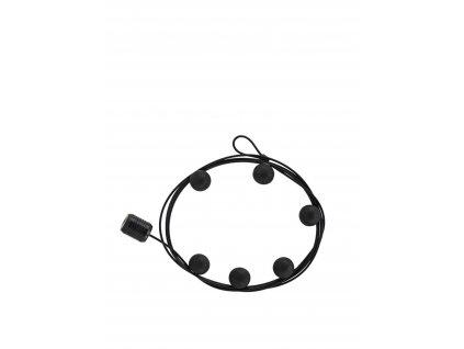 Magnetický držák fotografií Cable Black