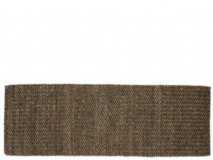 Jutový koberec Sigrid Bark - 180x60cm