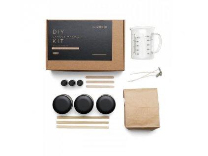 DIY sada na výrobu svíček - Natural