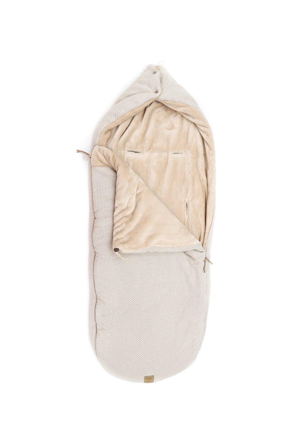 Zimni Fusak Milli Style s koziskem bezovy 2