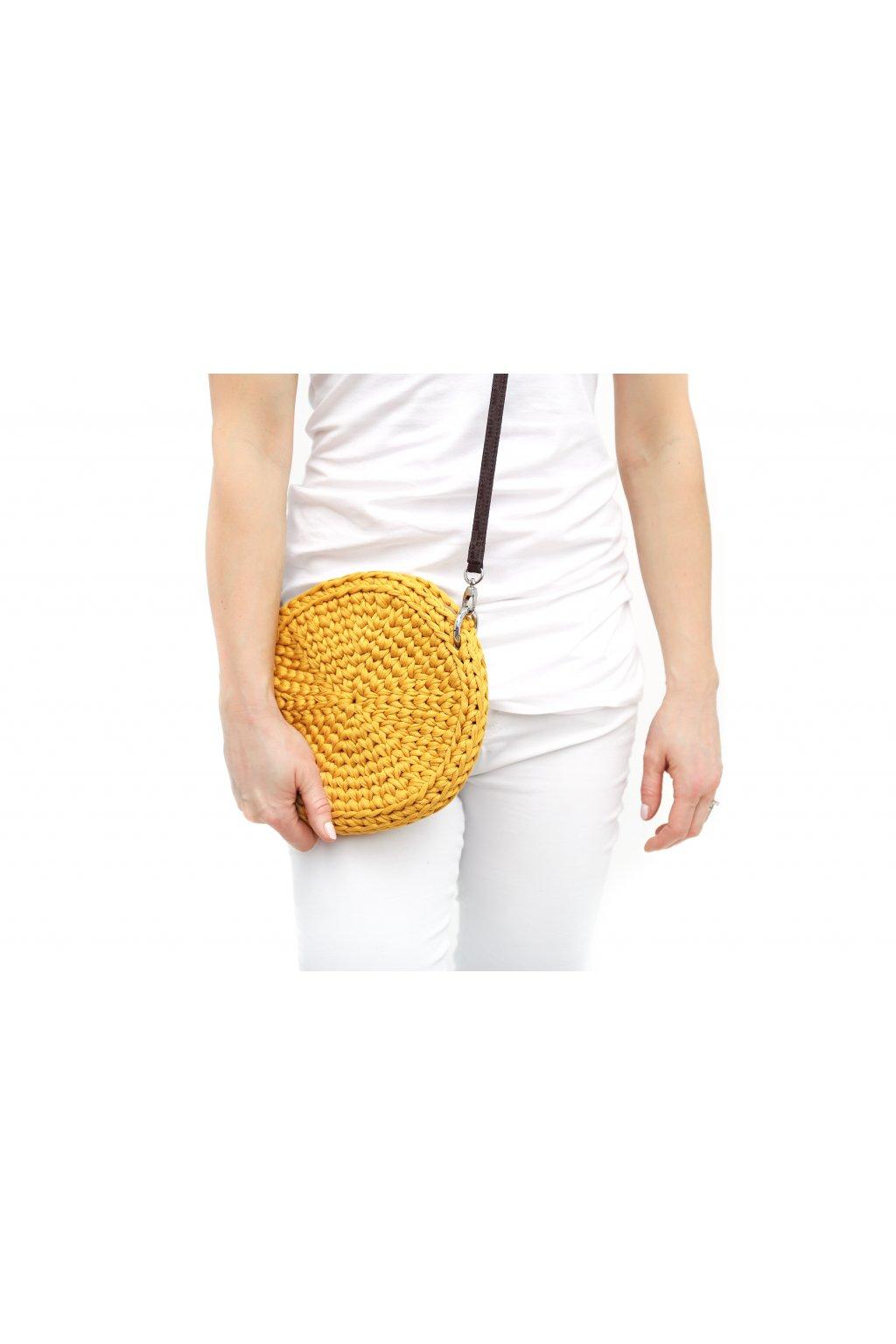 kabelka crossbody kulatá Milli Style