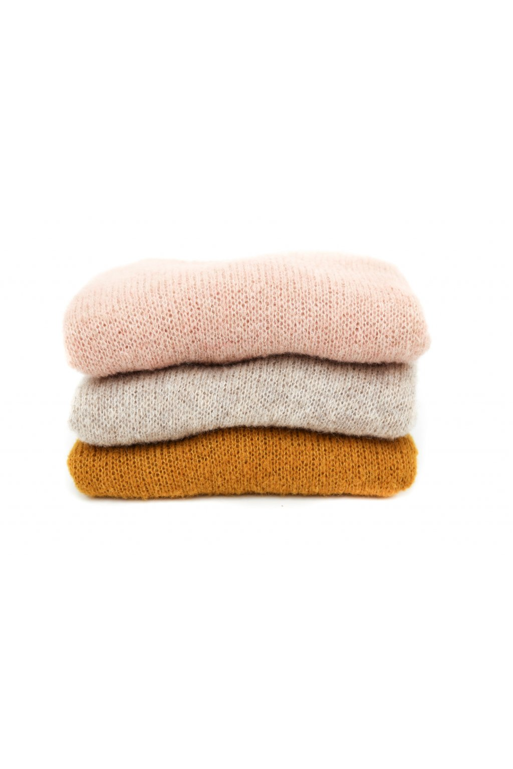 Ručně pletené svetry Milli Style Alpaca