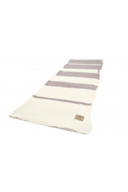 Pletená dětská deka bambus