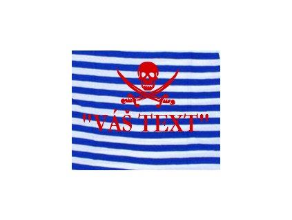 Potiskna vodu pirát