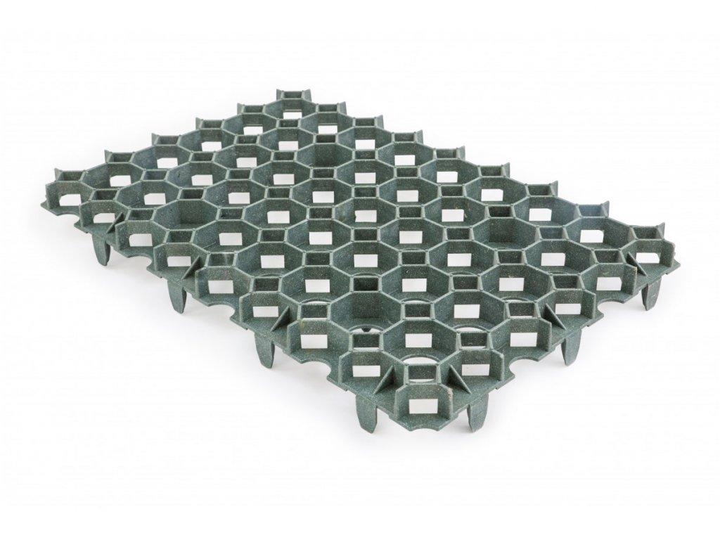 Gutta Rasenwabe zatravňovací dlažba 56 x 38 x 5,4 cm zelená