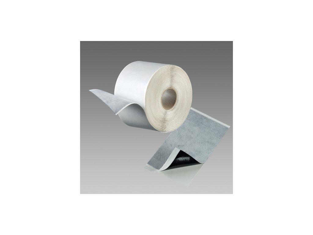 Den Braven Páska FLEECEBAND / Butylový pás s textilií tloušťka 1 mm