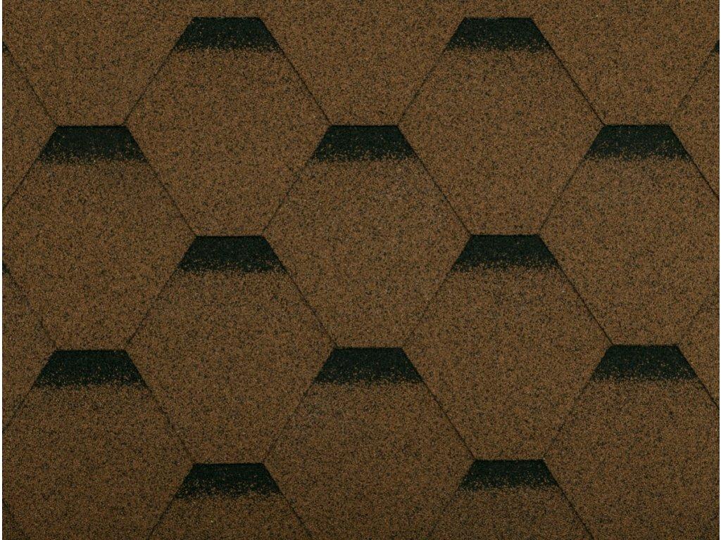 Gutta Asfaltový šindel Guttatec Hexagonal (Barva zelená)