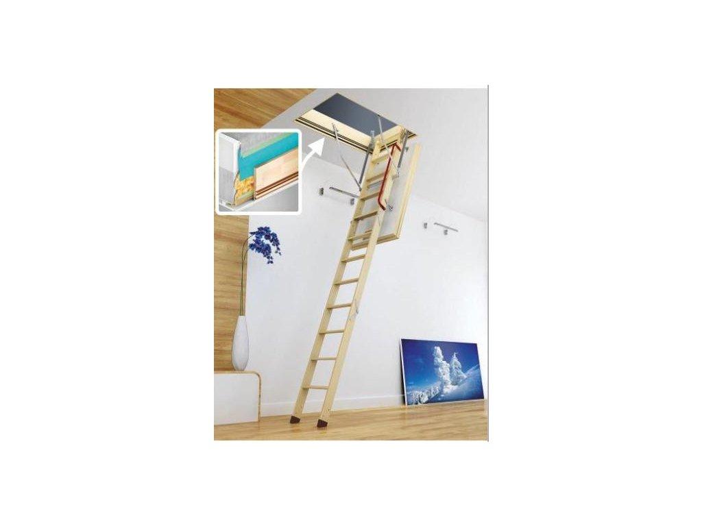 Půdní schody Fakro LWT Passive House  + sleva 200 Kč na další nákup