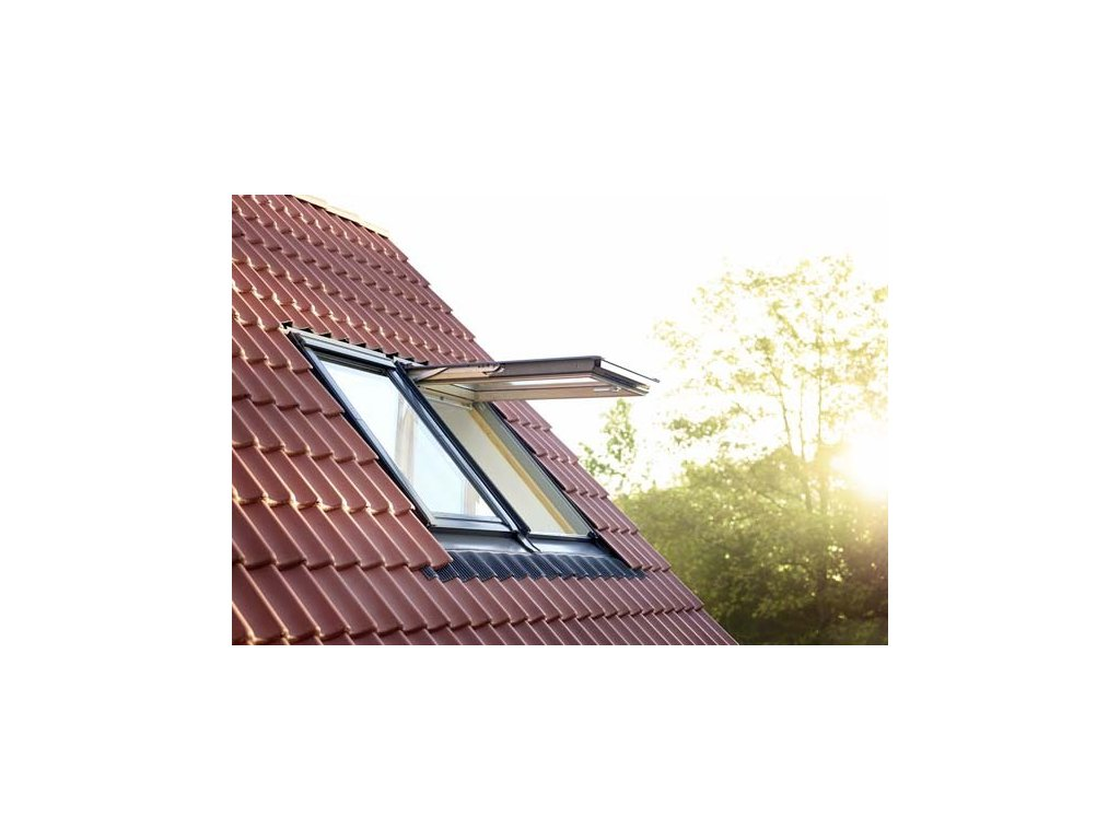 top hung pine roof window outside lifestyle