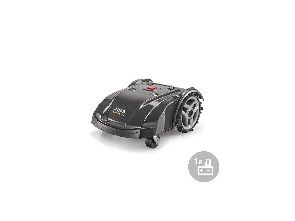 Stiga Aku robotická sekačka Autoclip 528 S