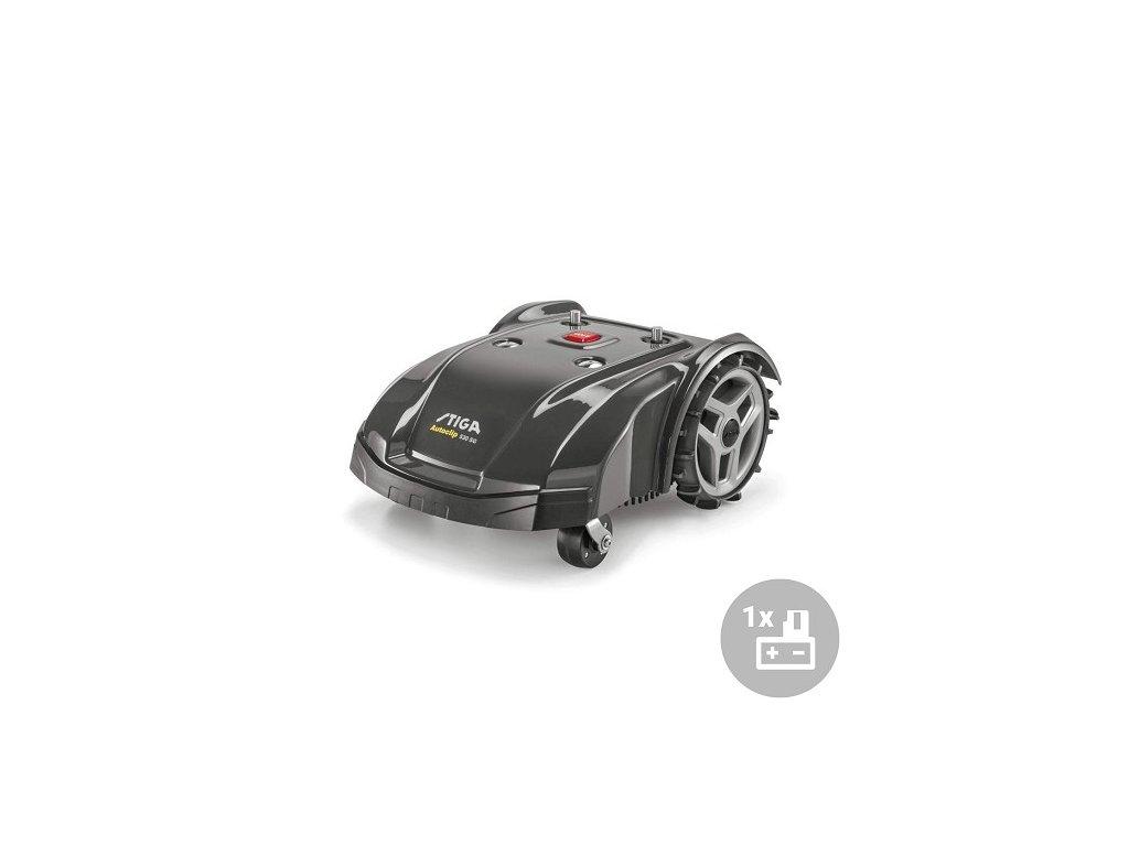 Stiga Aku robotická sekačka Autoclip 530 SG