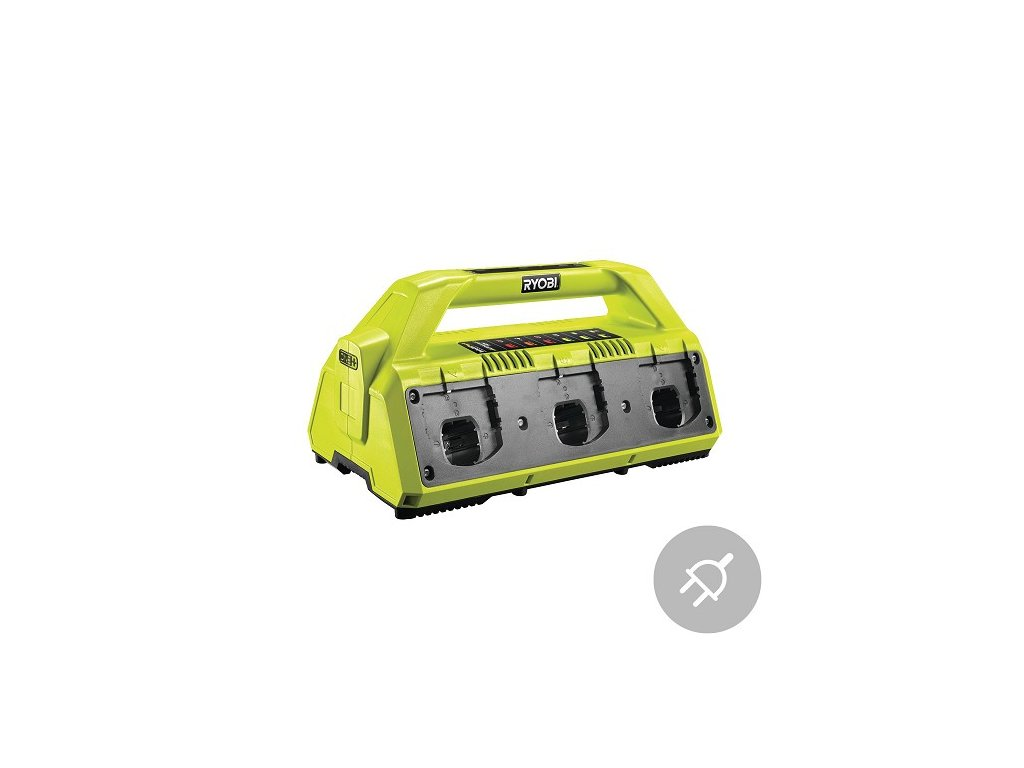 Ryobi Elektrická nabíječka RC18-627, 6 portů, 18V