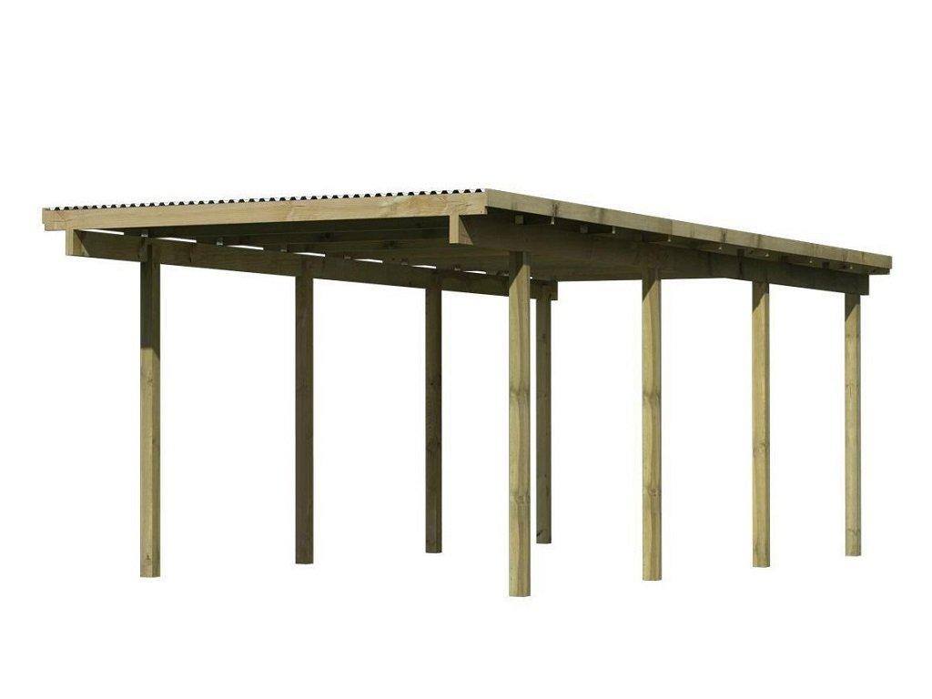Carport KARIBU ECO 2A 62029