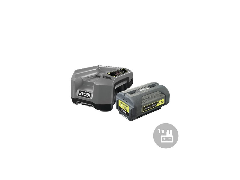 Ryobi Set akumulátor + nabíječka RBPK3640D5A, 36V, 1x 4,0Ah