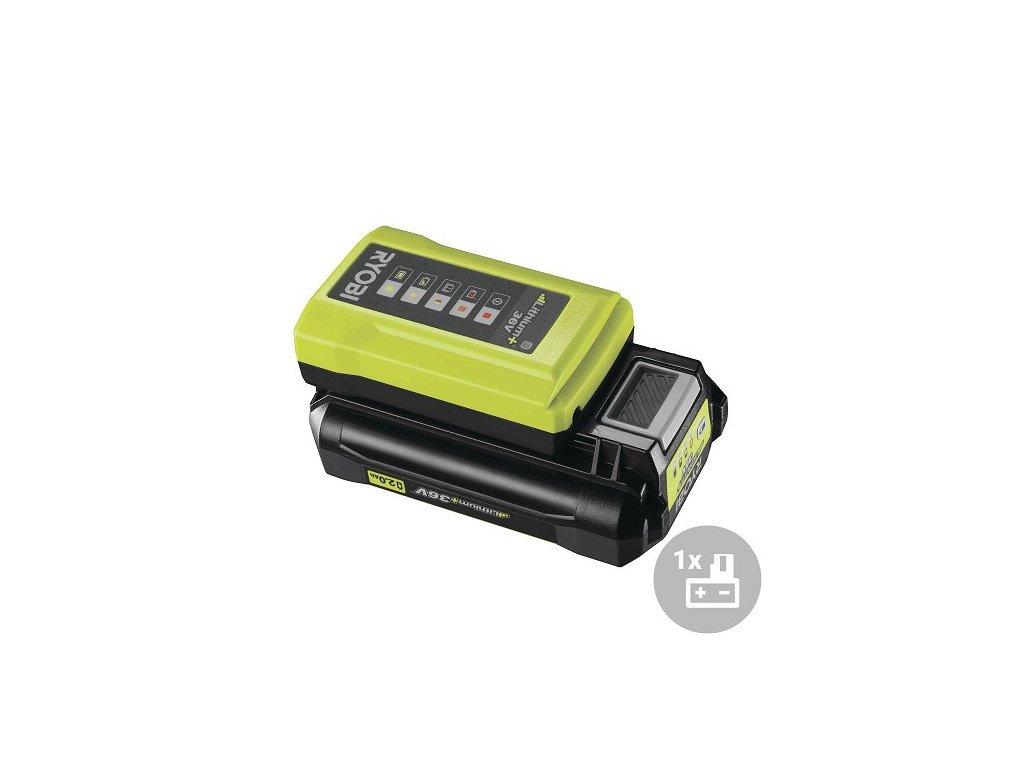 Ryobi Set akumulátor + nabíječka RY36BC17A-120, 36V, 1x 2,0Ah