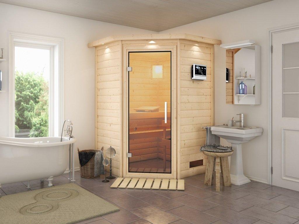 Finská sauna KARIBU FRANKA (59950)