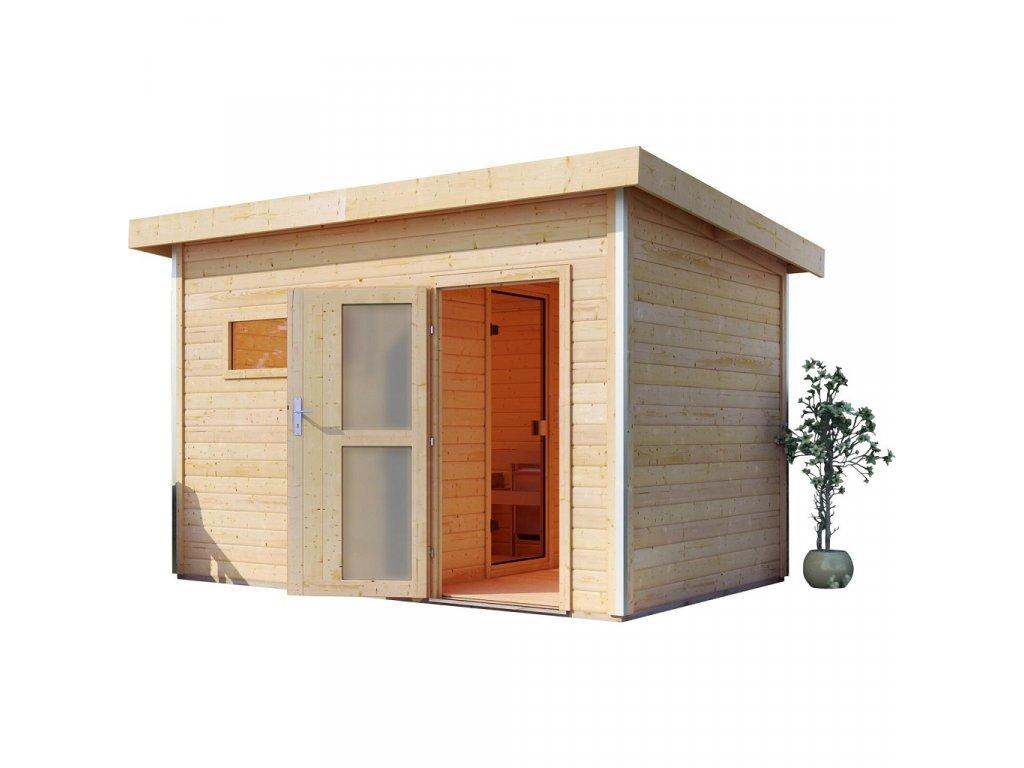 Finská sauna KARIBU SKROLLAN 3 (86308)