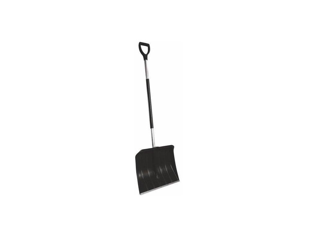 Hrablo na sníh ALU černé, 37,5x50cm, hliníková násada
