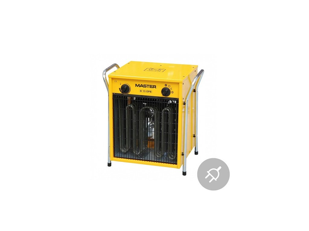 Elektrické topidlo B 15 EPB Master, 15kW, s ventilátorem