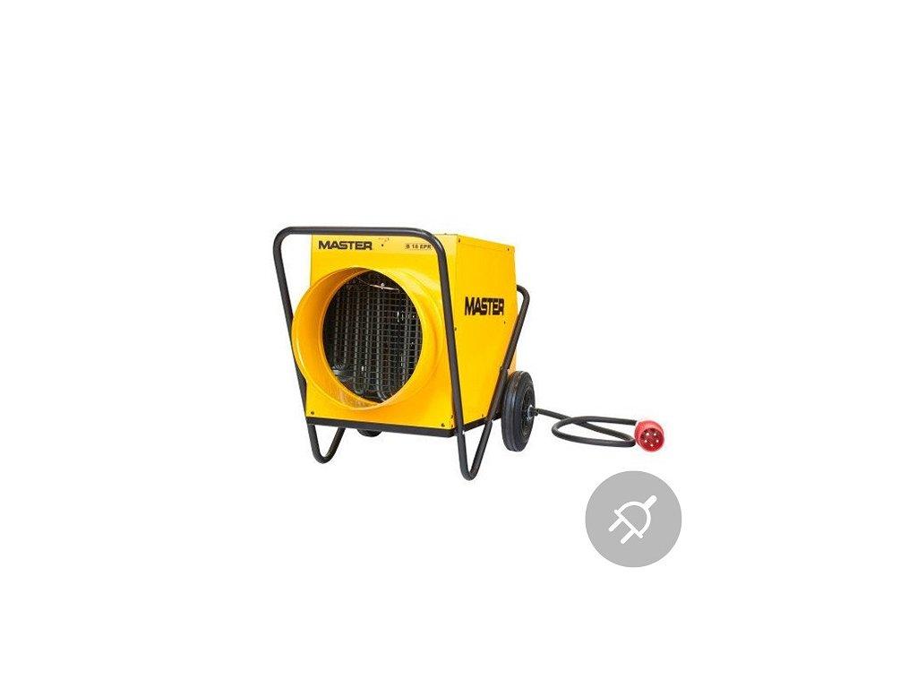 Elektrické topidlo B 18 EPR Master, 18kW, s ventilátorem