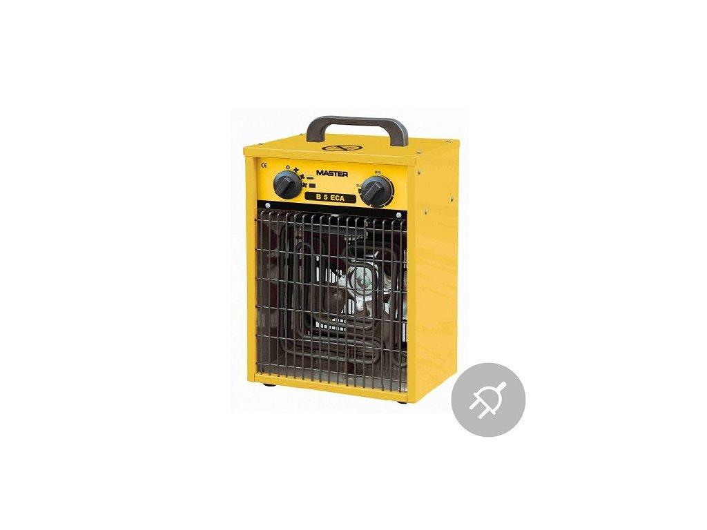 Elektrické topidlo B 5 ECA Master, 5kW, domácnost