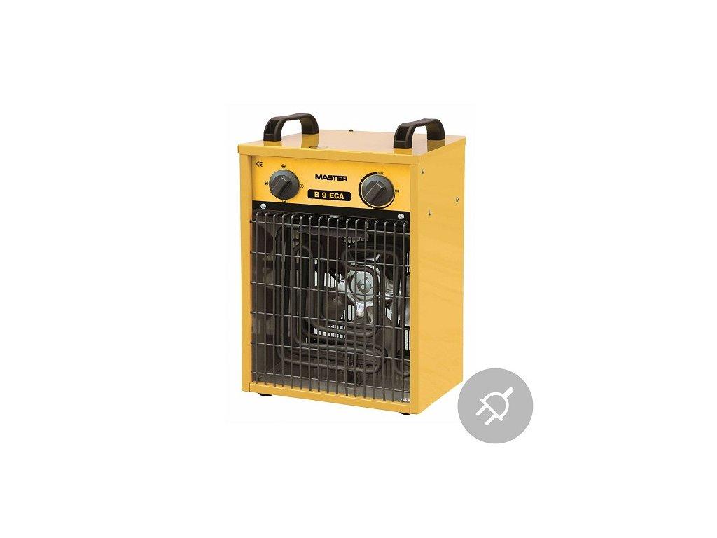 Elektrické topidlo B 9 ECA Master, 9kW, s ventilátorem, poloprofesionální