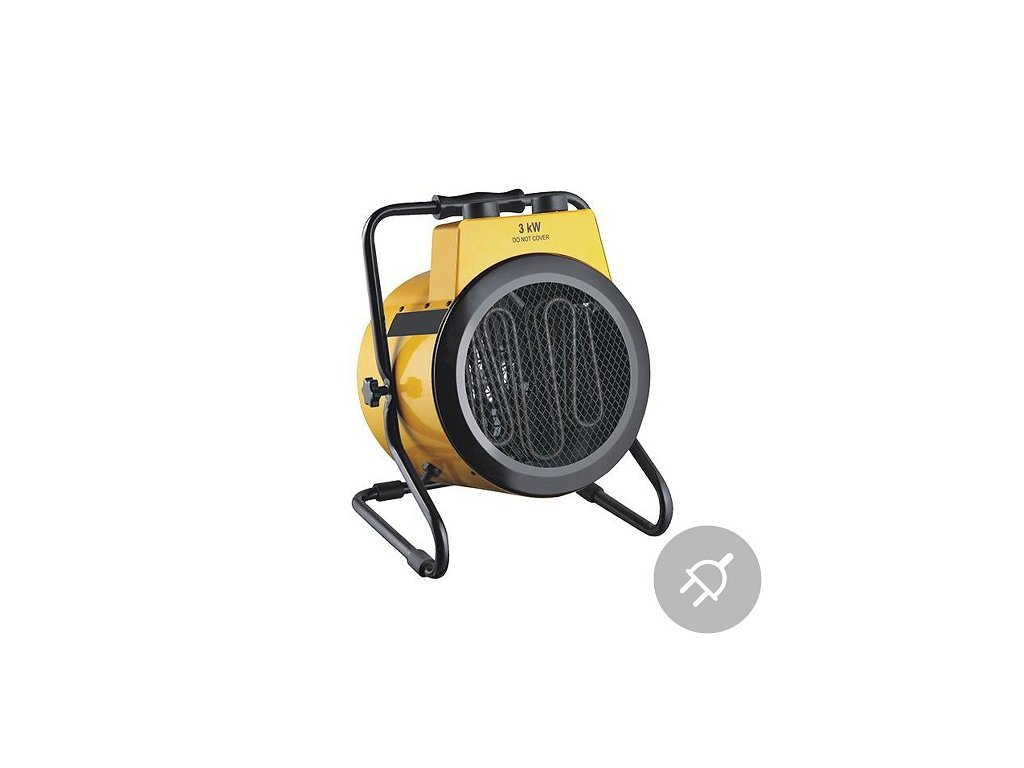 Elektrické topidlo EXA1-30, max. 3 kW