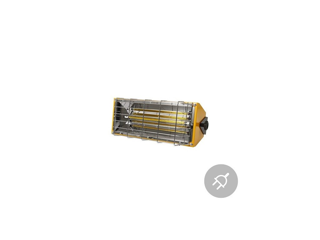 Elektrické topidlo HALL 1500 Master, 1,5kW, infračervené