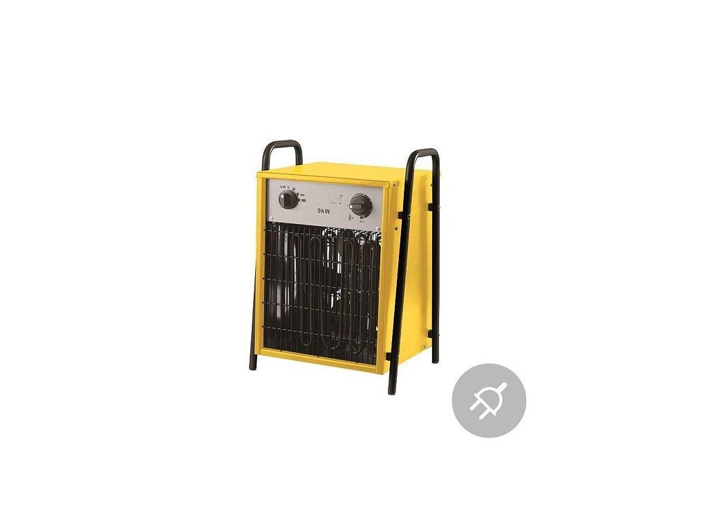 Elektrické topidlo IFH03-90-G, 400V, max. 9kW