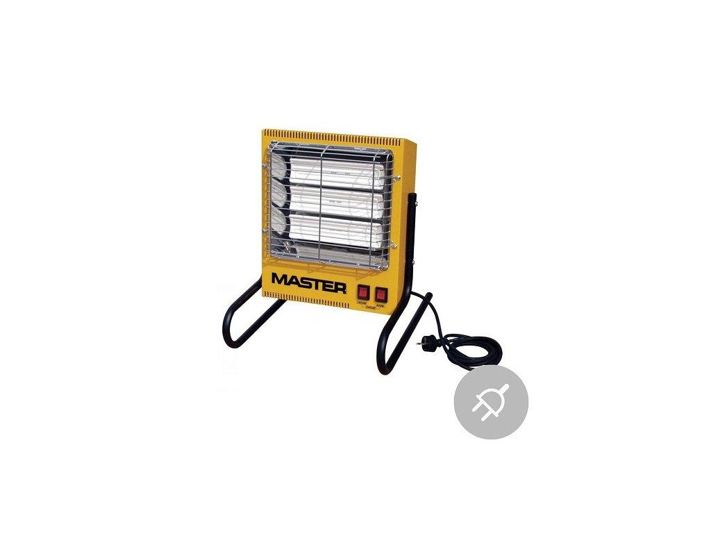 Elektrické topidlo TS 3 A Master, 2,4kW, infračervené