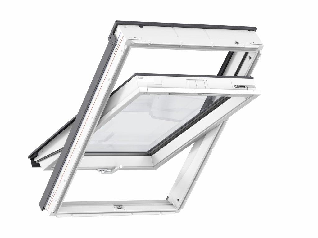 Střešní okno VELUX GLU se spodním ovládáním a zasklením 64