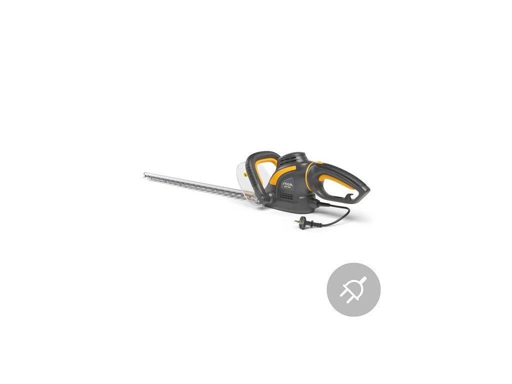 Elektrické nůžky na živý plot SHT 600 Stiga, 600W, 60cm